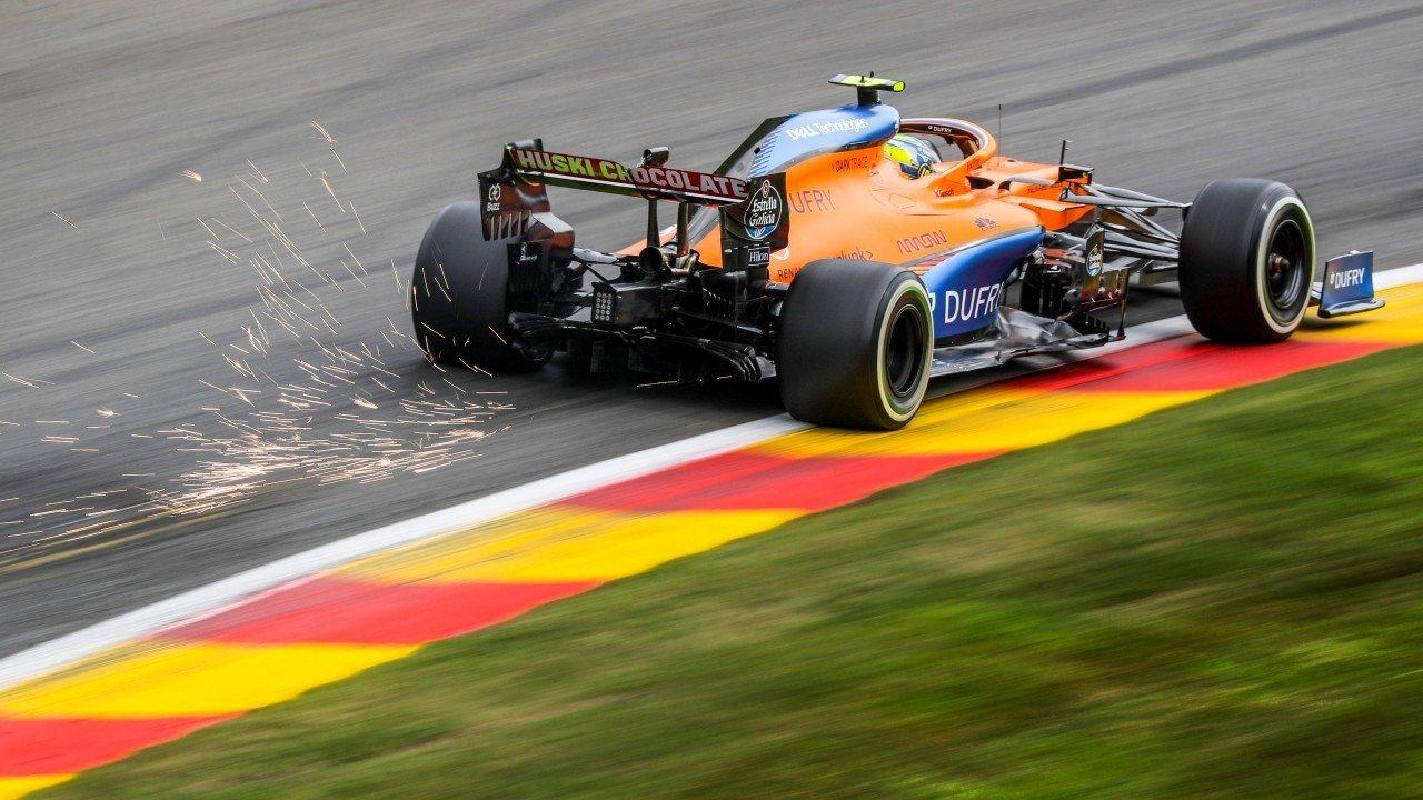 McLaren: nuevos deflectores laterales y suelo experimental para 2021