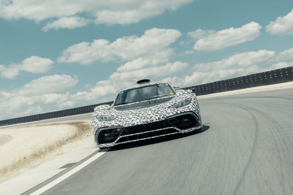 Los prototipos del Mercedes-AMG ONE entran en su última fase de pruebas