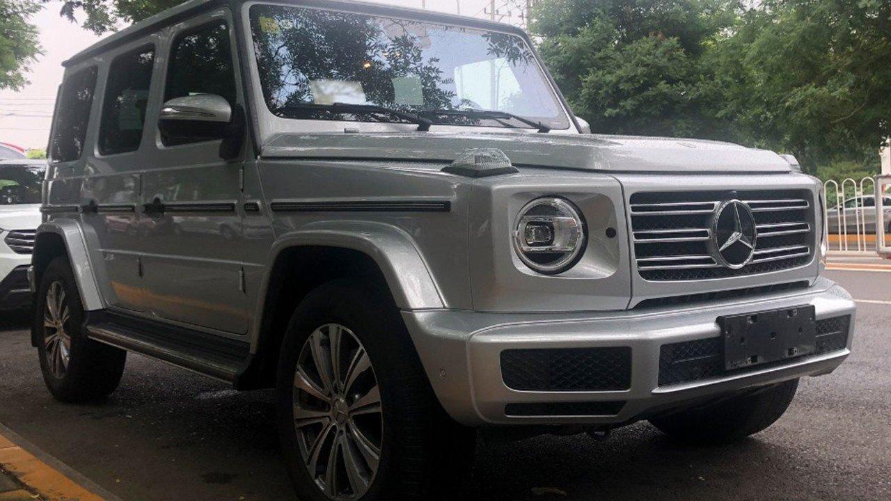 ¿Es posible un Mercedes Clase G con motor de 4 cilindros? Sí, pero no llegará a Europa