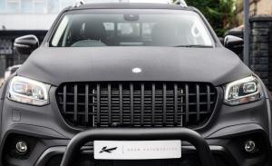 Project Kahn da un toque más militar al Mercedes Clase X