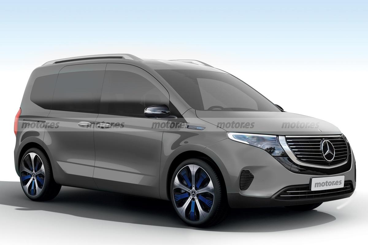 Mercedes EQT, un adelanto del polivalente comercial eléctrico que llega en 2022