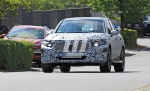 La nueva generación del Mercedes GLC, cazada nuevamente en fotos espía