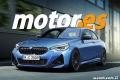 Adelantamos el diseño del nuevo BMW Serie 2 Coupé, que llegará en verano de 2021