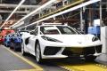 Sale de la cadena de montaje el Chevrolet Corvette número 1.750.000