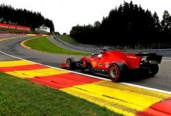 Ferrari pinta a drama en Spa: detrás de Alfa Romeo y a la par con Williams