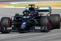 Hamilton da un paso de gigante a la victoria del domingo con la pole