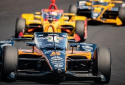 McLaren SP lidera el Carb Day con O'Ward; Palou 10º y Alonso 23º