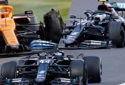 Pirelli concluye su investigación sobre los pinchazos en Silverstone: no fueron cortes