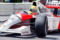 Senna, elegido como el piloto más rápido de la historia; Alonso y Sainz en el top 20