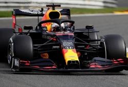 Verstappen toma el mando de los segundos y fríos libres en Spa