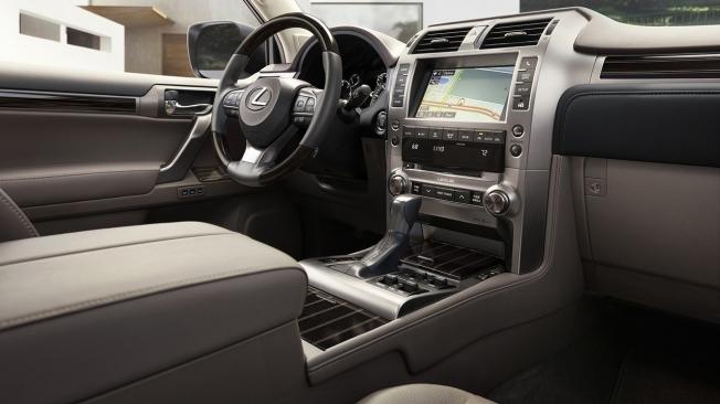 Lexus GX 2021 - interior