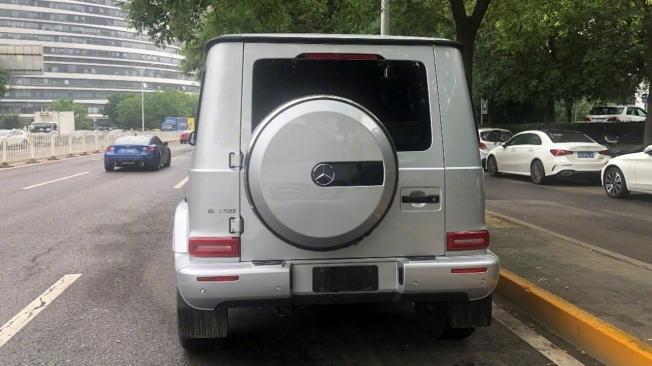 Mercedes G 350 - foto espía posterior