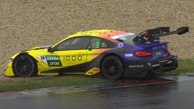 Nico Müller logra la primera pole del DTM en Lausitzring bajo la lluvia