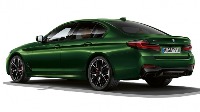BMW M550i xDrive - posterior
