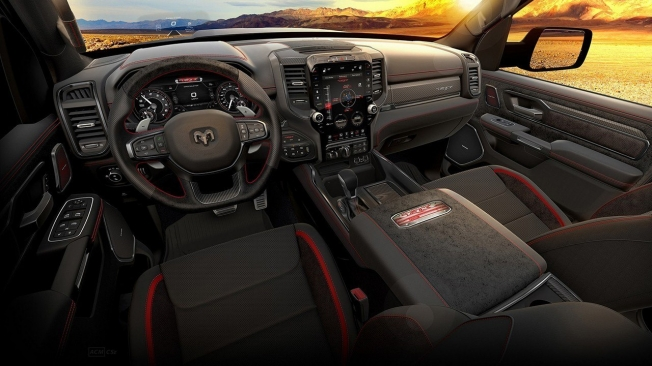 RAM 1500 TRX Launch Edition - interior