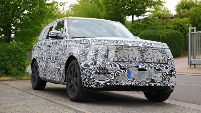 Range Rover 2022 - foto espía