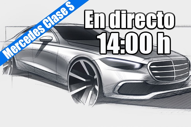 Sigue en directo la presentación del nuevo Mercedes Clase S 2021