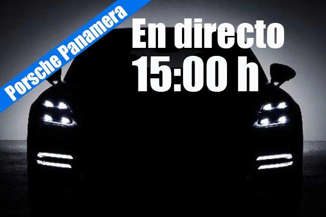 Sigue en directo la presentación de la renovada gama Porsche Panamera 2021