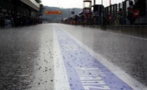 La lluvia amenaza con acompañar a la F1 en Spa durante todo el fin de semana