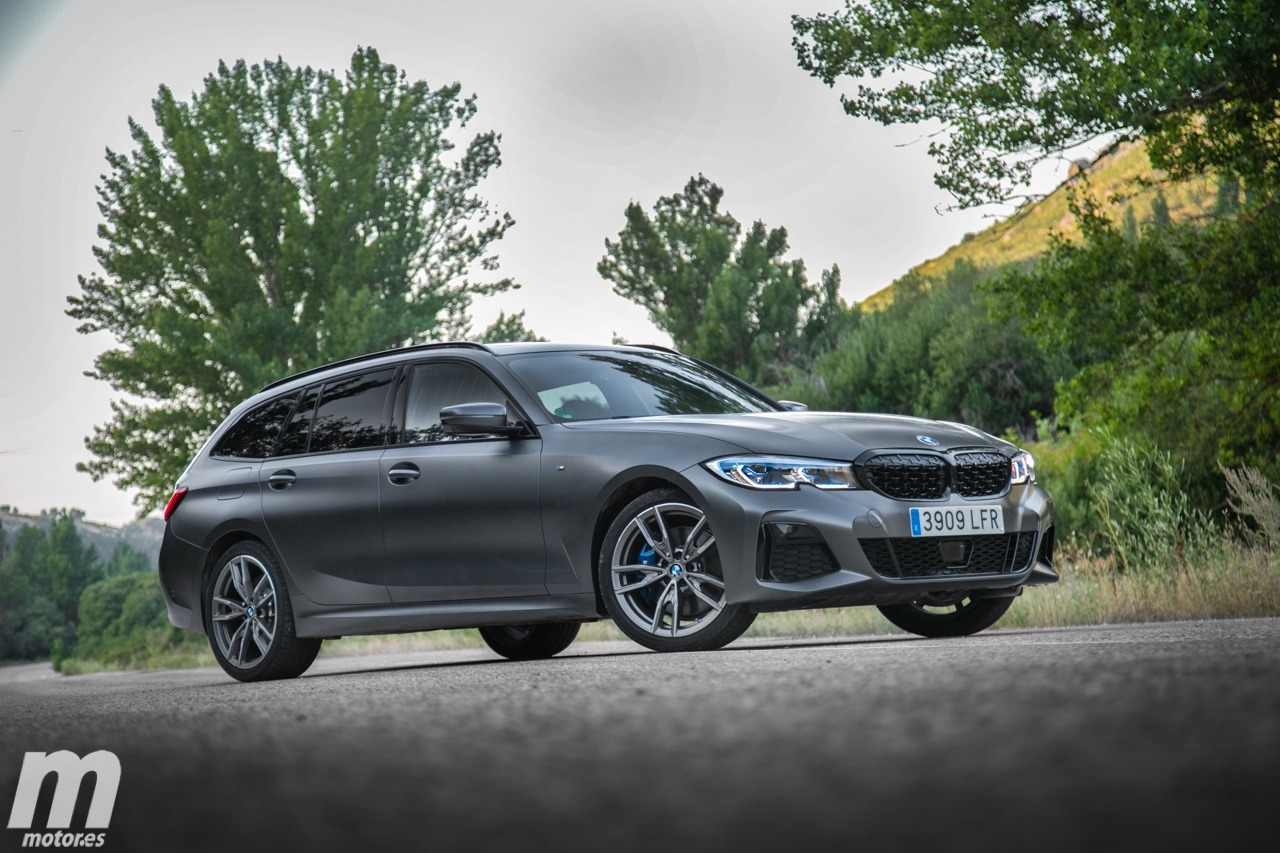 Prueba BMW M340i xDrive Touring First Edition, exclusividad en familia