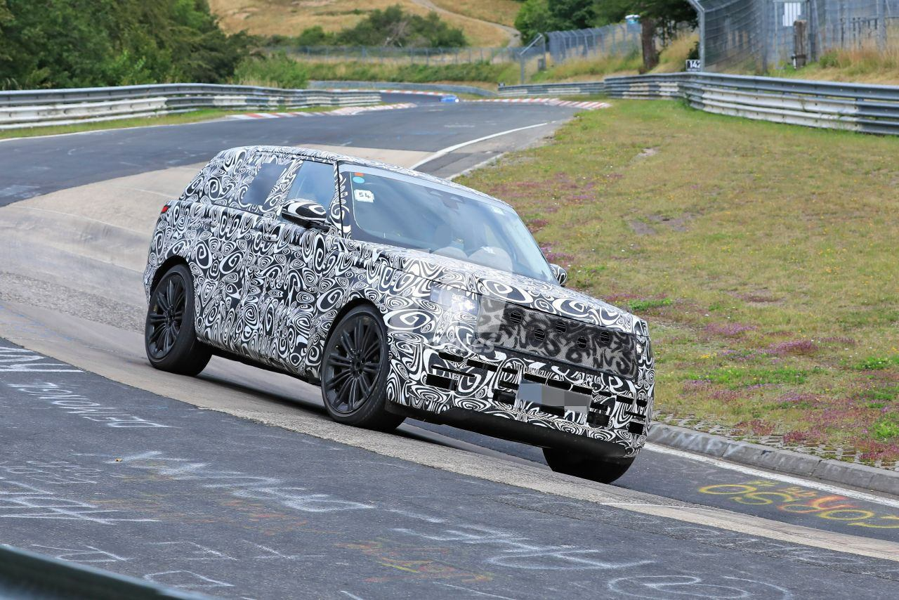 El Range Rover V8 en vídeo durante sus pruebas en Nürburgring