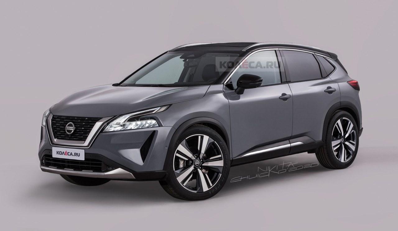 Nuevos renders del Nissan Qashqai 2022 revelan su aspecto definitivo
