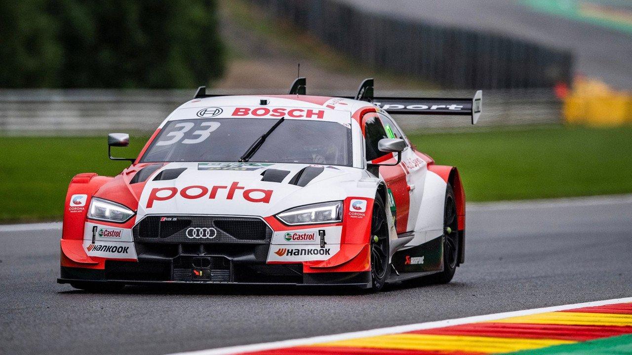 René Rast logra la pole del domingo en la cita del DTM en Spa