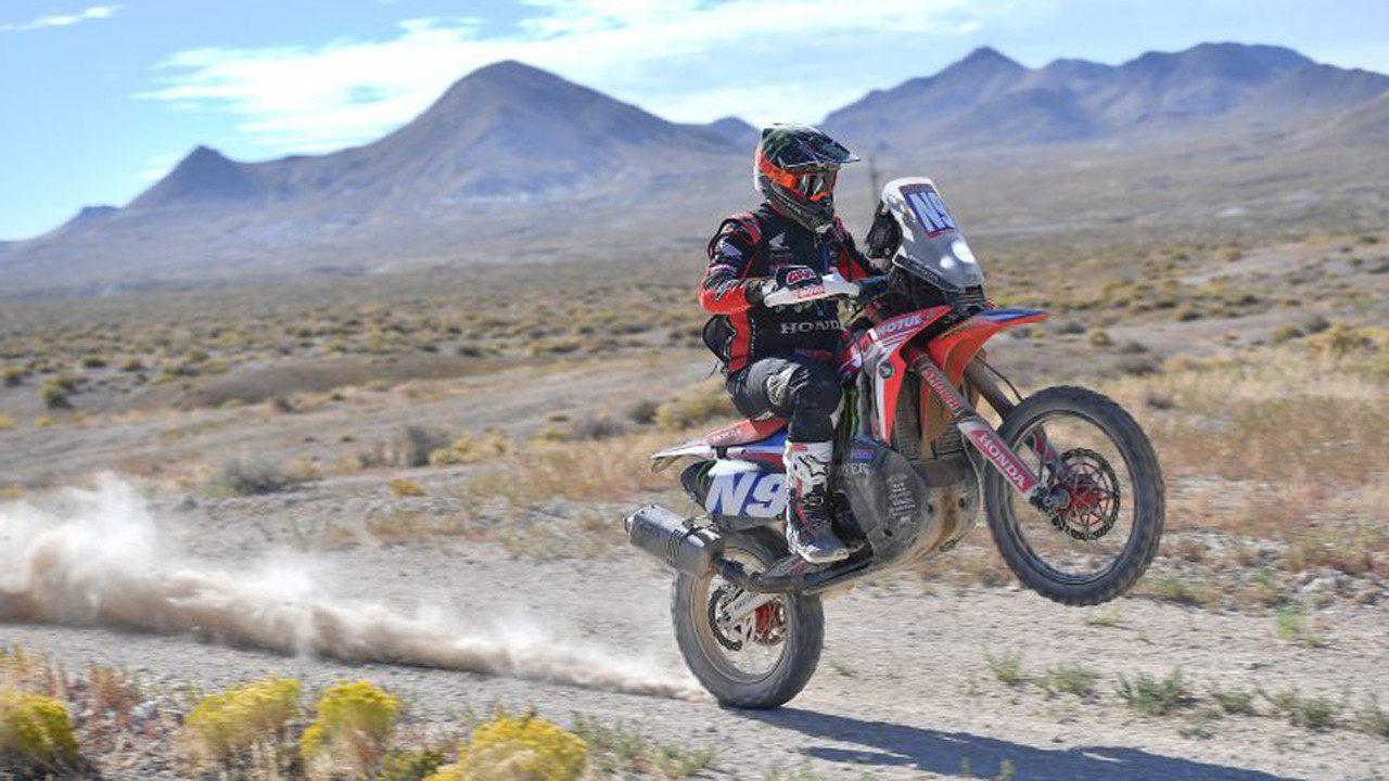 Ricky Brabec, campeón del Dakar 2020, gana por tercera vez la Vegas to Reno
