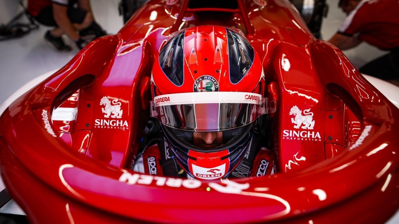 Robert Kubica vuelve al cockpit del Alfa Romeo C39 en Silverstone