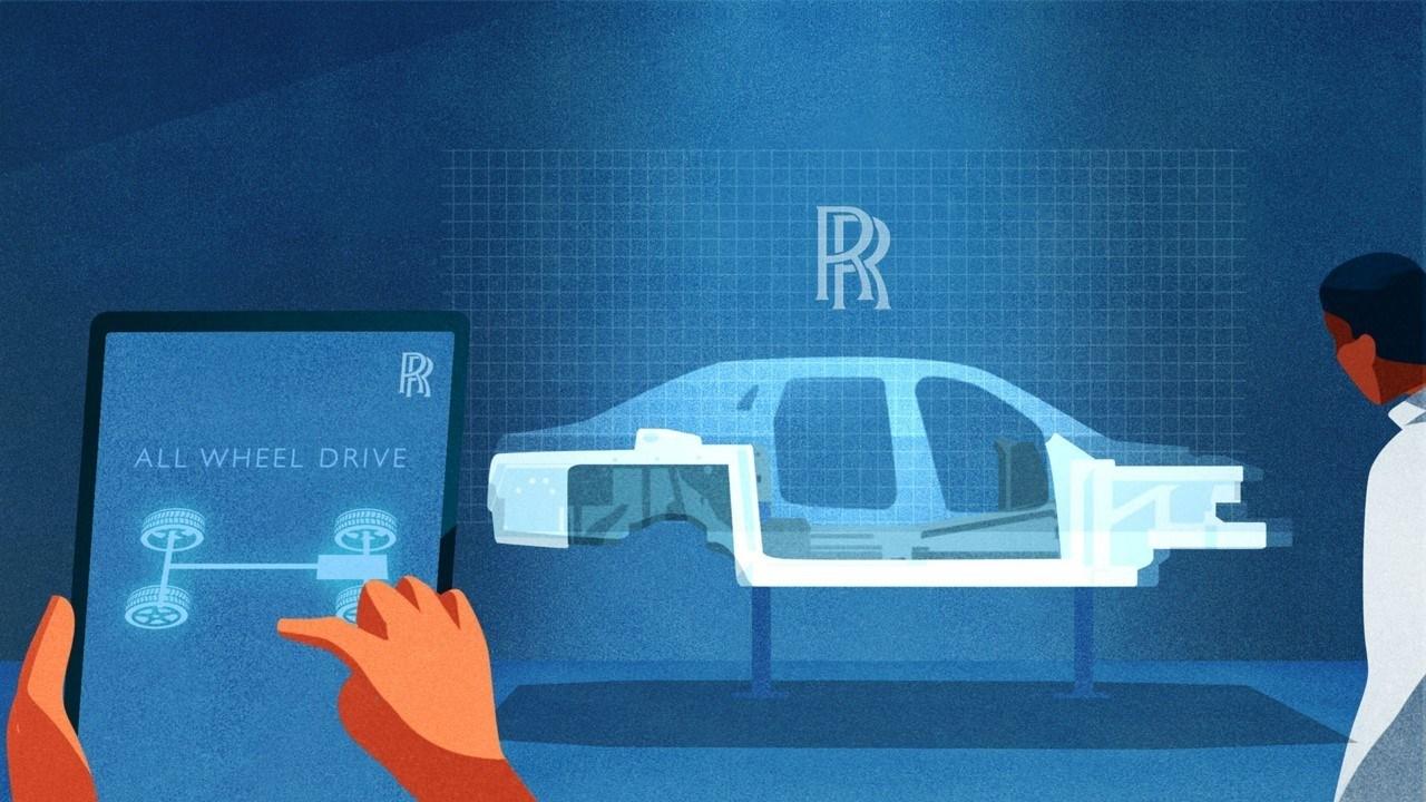 Rolls-Royce adelanta la avanzada tecnología del nuevo Ghost