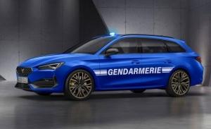 El nuevo CUPRA León Sportstourer, al servicio de la Gendarmería francesa en 2021