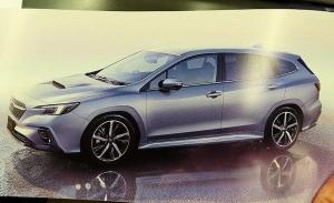 Filtrado el Subaru Levorg 2021 en su versión definitiva, interior incluido
