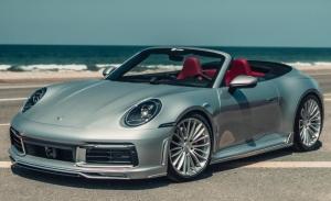 TechArt Porsche 911 Cabrio 2021, tan deportivo como elegante y discreto