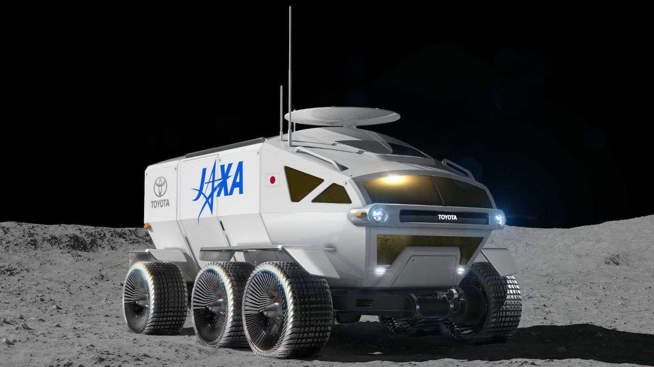 ¿Como sería un Toyota Land Cruiser para la luna? Este es el nuevo Toyota Lunar Cruiser
