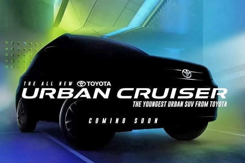 Toyota Urban Cruiser, el crossover japonés llegará a India de la mano de Suzuki