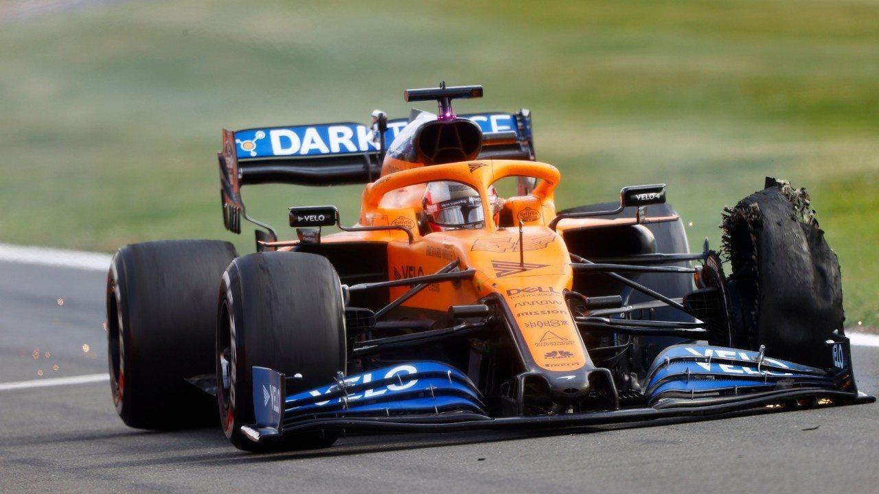 Un pinchazo destroza la carrera de Sainz: «Una pena, habría acabado cuarto»