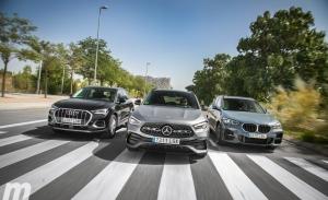 Comparativa Mercedes GLA, BMW X1, Audi Q3, cuestión de matices (con vídeo)