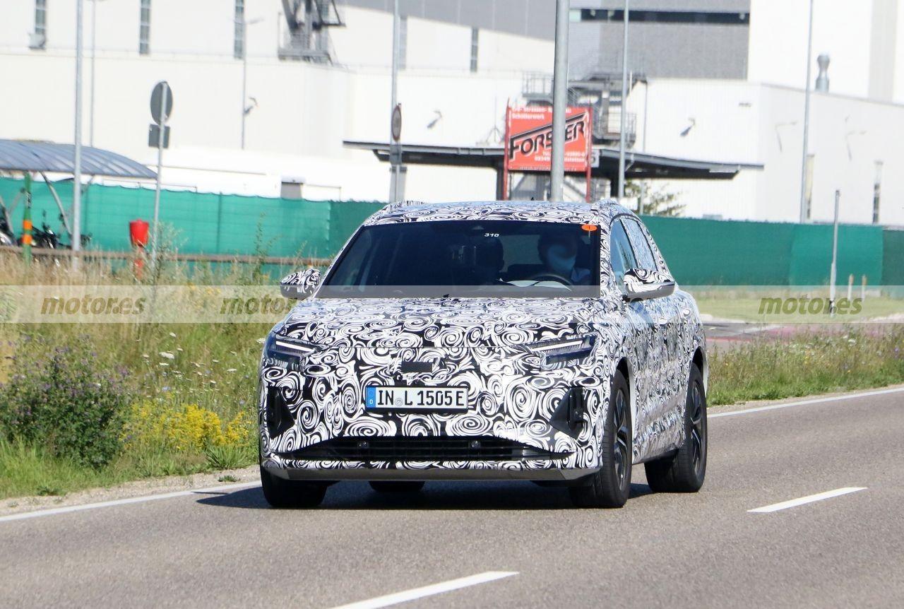Nuevas fotos espía del Audi Q4 e-tron, el SUV eléctrico sigue en pruebas