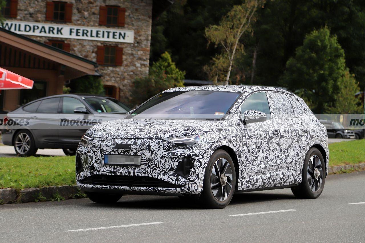 Los nuevos Audi Q4 e-tron y Q4 Sportback e-tron trasladan las pruebas a Austria