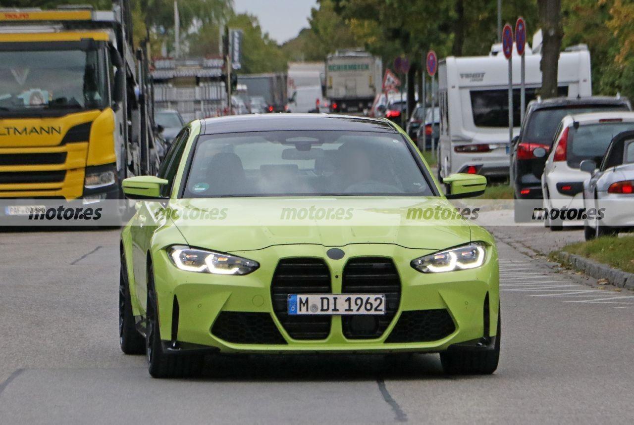 Nuevas fotos espía muestran dos prototipos del BMW M3 G80 al natural