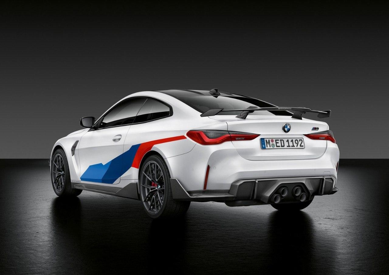 BMW presenta el kit M Performance más agresivo para los nuevos M3 y M4