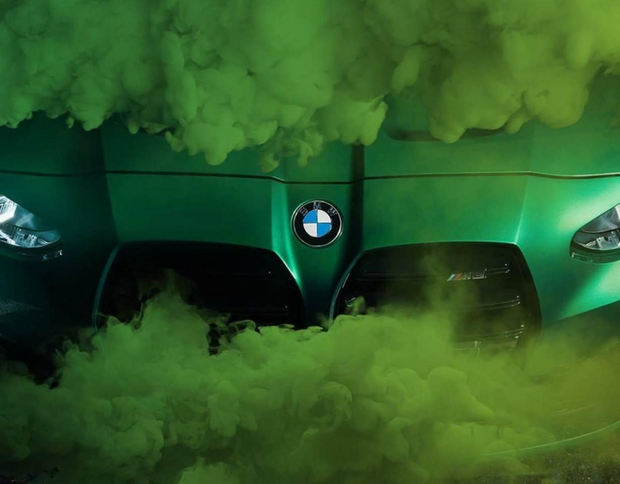 Los últimos teasers de los BMW M3 y M4 nos muestran su parrilla y cambio manual