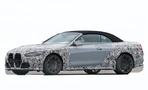 El nuevo BMW M4 Cabrio G83 pierde camuflaje en unas nuevas fotos espía