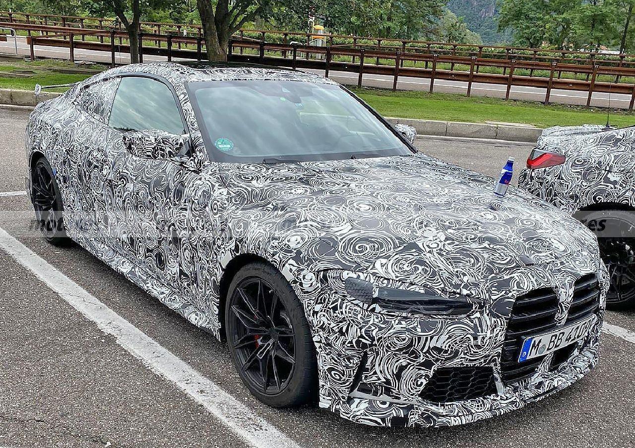 Nuevas fotos espía permiten un vistazo más cercano al nuevo BMW M4 CSL 2022