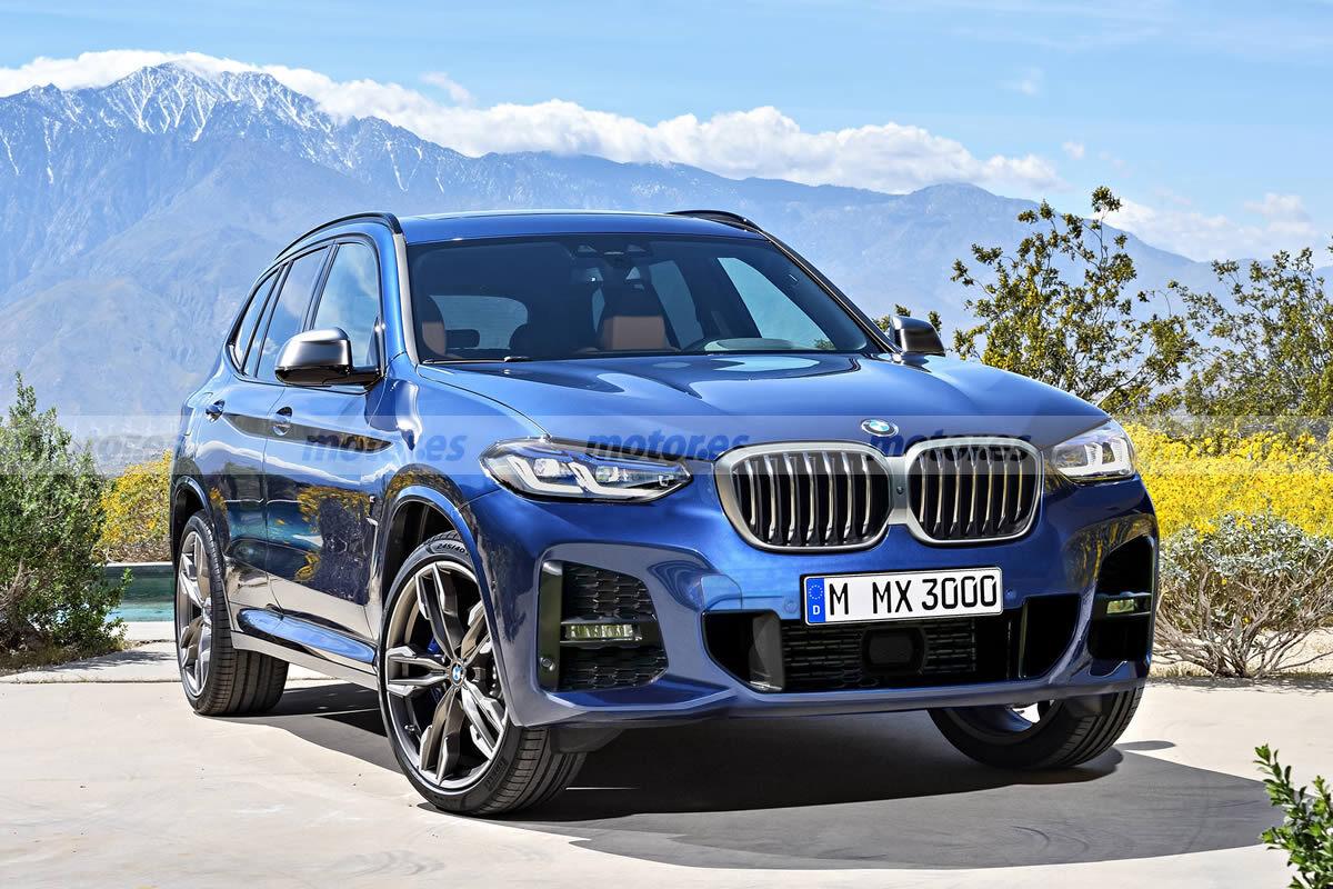 Nuevo adelanto del facelift que BMW prepara para el X3, llegará a finales de 2021