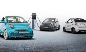 BRABUS Ultimate E 2021, más potencia y más agresividad para el urbano eléctrico