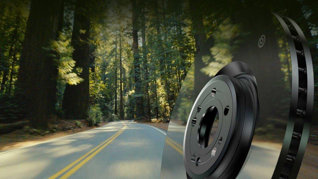 Brembo presenta los discos Greentive y las pinzas de frenos Enersys más eficientes