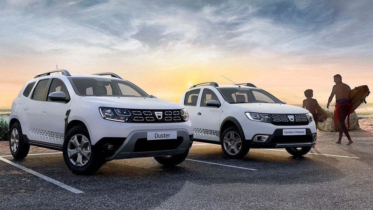 El Dacia Duster y el Sandero Stepway estrenan la serie limitada Evasion