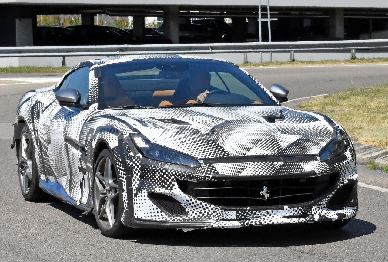 Cazamos un prototipo del Ferrari Portofino 2021 con su nuevo diseño