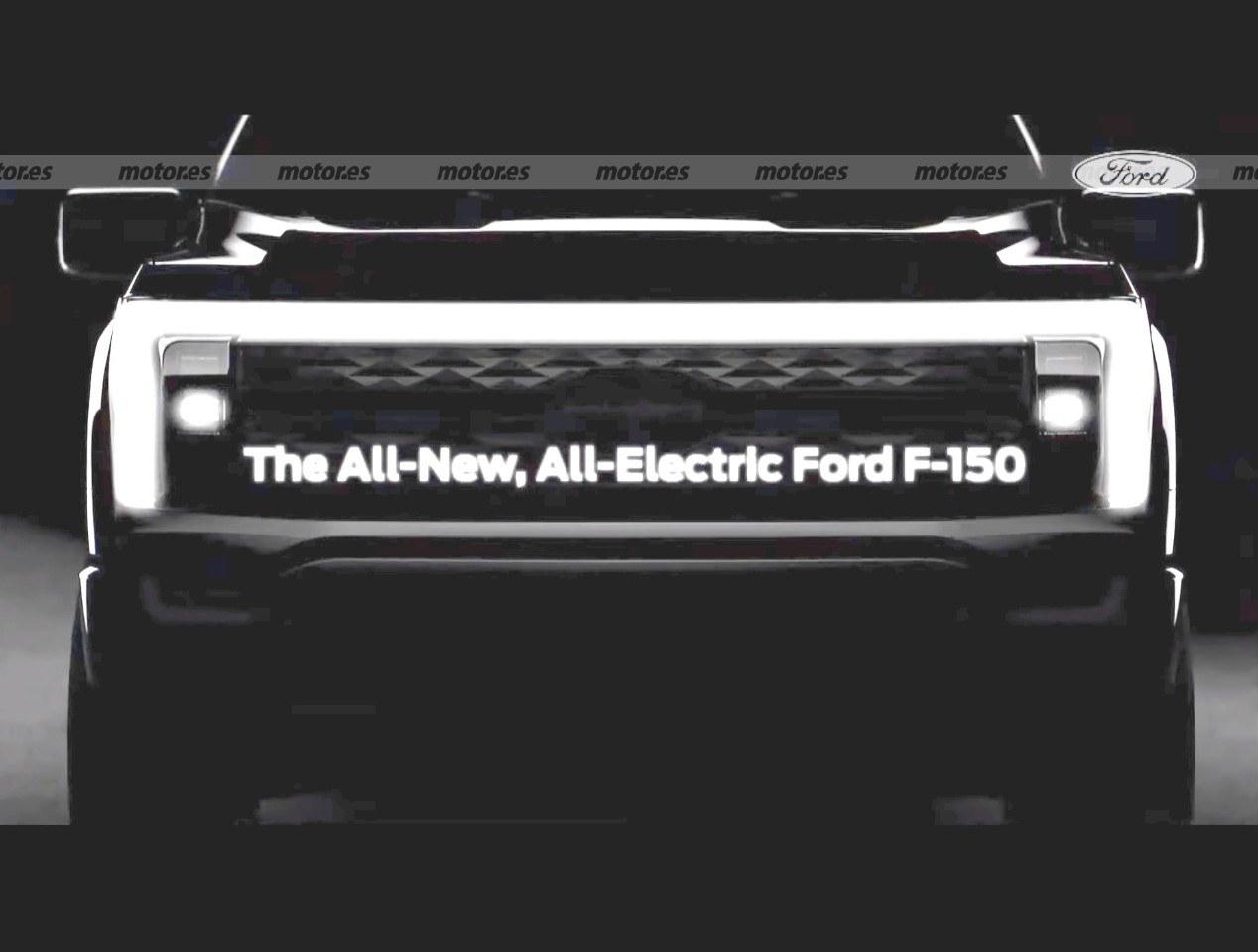 Ford desvela la primera imagen del F-150 eléctrico y anuncia su fecha de llegada